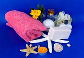 Produits de bain et les soins de la peau — Photo