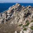 Rocks And Sea - Capo Testa, Sardegna — Stock Photo