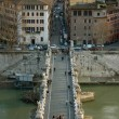 Sant'Angelo Bridge - Rome, Italy — Stock Photo #2913427