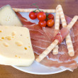 ItaliAppetizers On Wood Table — Stock Photo #2913436