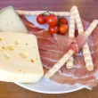 Italian Appetizers On Wood Table — Stock Photo
