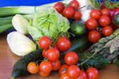 Biological Vegetables — Stock Photo