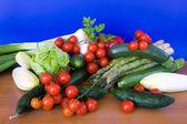 Sebze içeren tablo — Stok fotoğraf