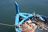 Bow Of Old Fishing Boat — Photo