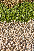 Layers Of Dried Beans — Stock Photo