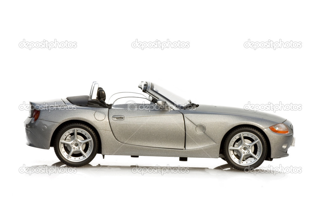 Transportation - Automobiles - sport car isolated on white background. — Stock Photo #3126373
