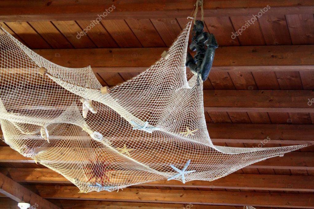 как покрасит рыболовную сеть