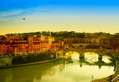 Rome At Dusk — Stock Photo