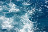 Mořské vody pozadí — Stock fotografie