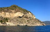 Rocks At Punta Polveraia — Stock Photo