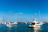 Boats In The Harbor — Stock Photo