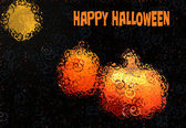 Abstract Halloween Card — Stok fotoğraf