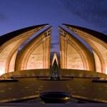 Nightview of Pakistan monument — Stock Photo #3003799