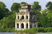 Scene of Tortoise Tower ,hanoi — Stock Photo