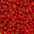 Stock Photo: Red Seed Beads
