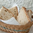 pane fresco fatto in casa — Foto Stock
