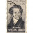 Stock Photo: Postage stamp from Italy dated 1951