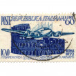 Stock Photo: Postage stamp from Italy dated 1952