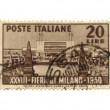 Stock Photo: Postage stamp from Italy