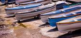 Boats in Capry, Italy — Stock Photo