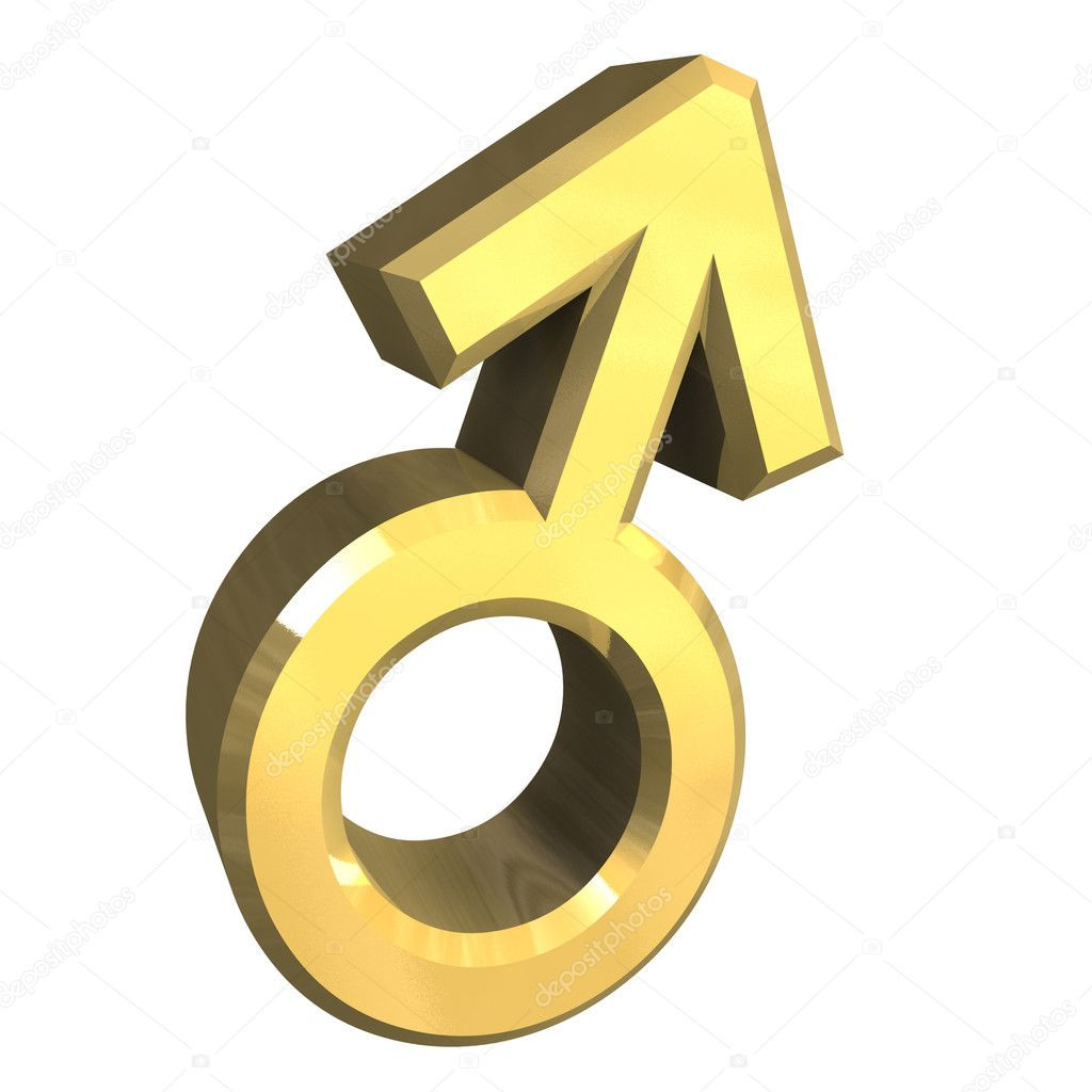 Male sex symbols (3D made)