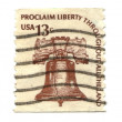 Royalty-Free Stock Photo: Old postage stamps from USA 13 cents
