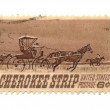 Old postage stamp from USA 6 cent — Stock Photo