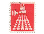 Old postage stamp from USA 10 cent — Stock Photo