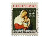 米国 22 セントから古い切手 — ストック写真