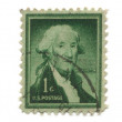 Old postage stamp from USA one cent — Stock Photo