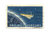 Old postage stamp from USA 4 cent 1962 — Stock Photo