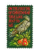 Abd sekiz sentten eski posta pulu — Stok fotoğraf
