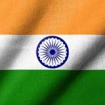 3D Flag of India waving — Stock Photo #2852044