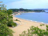 Strand von la magdalena — Stockfoto