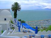 地中海のカフェ — ストック写真
