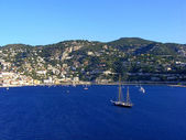 The bay of Villefranche — Stockfoto