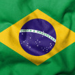 3D Flag of Brazil — Foto Stock