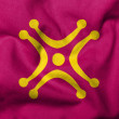 3D Flag of Cantabria - Labaro — Photo