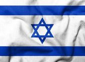 3D Flag of Israel — Stock Photo