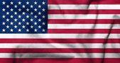 3d flaga usa — Zdjęcie stockowe