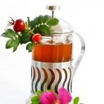 Tea rosehip — Stock Photo