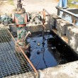 Oil pollution — Stock Photo