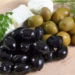 Black and green olives — Stock Photo #2868481