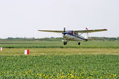 Agricultural aviation — Stock Photo