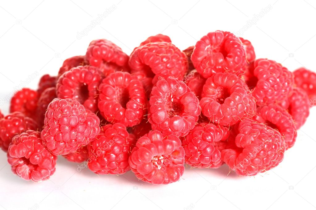 Raspberries, food and nutrition at spring and summer — Stock Photo #2862032