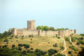 Greece - Byzantine fortress — Stock Photo