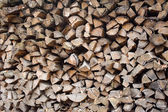 Wood for the fireplace — Stock Photo