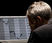 Financial crises — Stock Photo