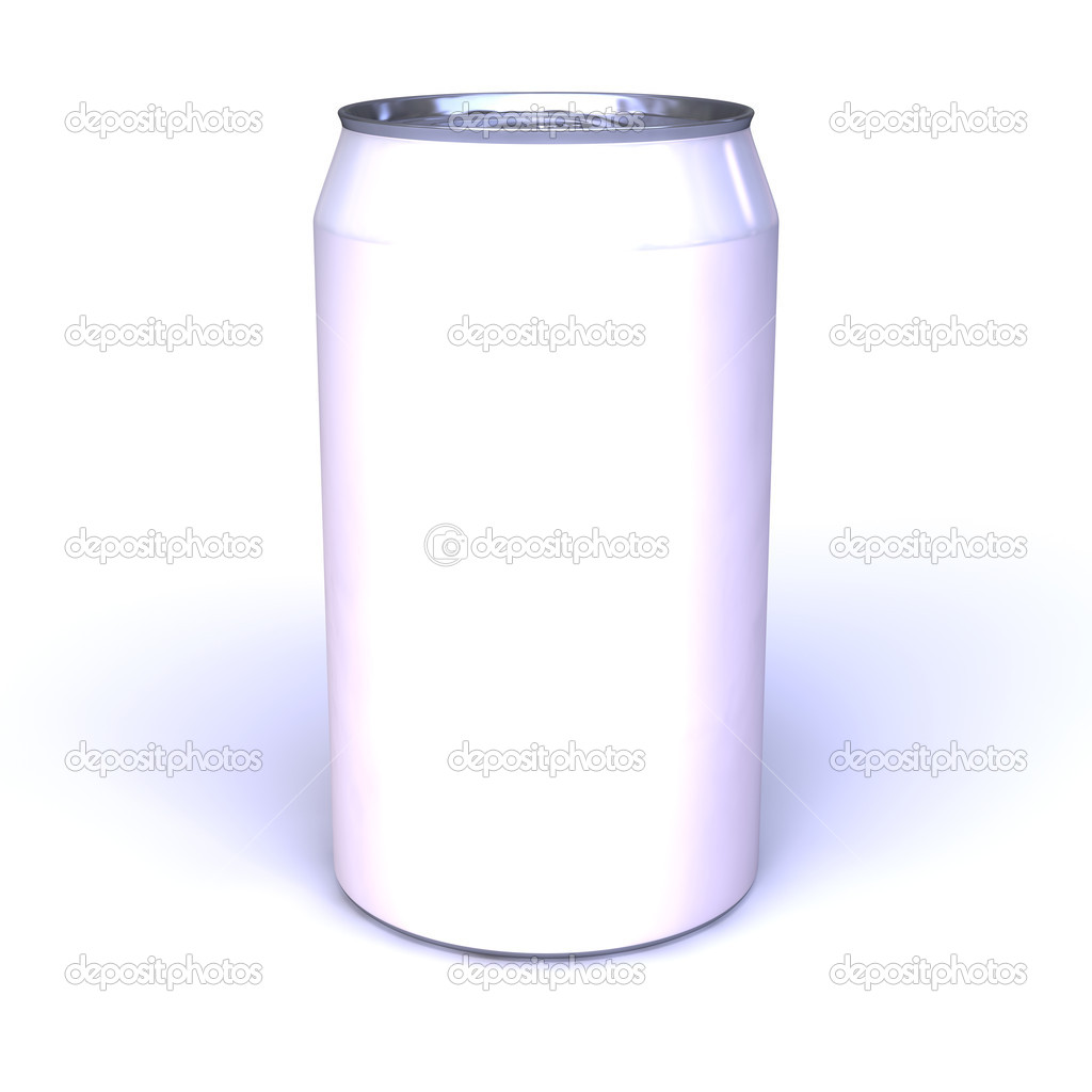 blank blue soda can - photo #23
