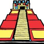 Mayan Pyramid — Stock Vector